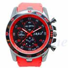 Stainless Steel Luxury Sport Analog Quartz Men Fashion Military Army Wrist Watch