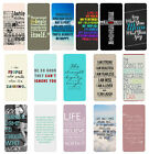 Sayings Quotes Flip Case Cover for Samsung S3 S4 S5 S6 - 37