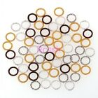200PcsTibetan Silver Silver/Gold/Bronze/Copper Tone Twist-Ring Jewelry Findinds
