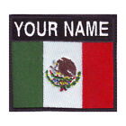 MEXICO BADGE CUSTOM FLAG EMBROIDERED PATCH