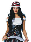 Corset Velvet Ladies Pirate Fancy Dress Black Medieval Womens Gothic New Wench