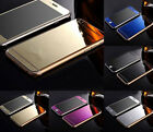 Gold Mirror Tempered Glass Front+Back Protector For iPhone 6 5 5S 6plus NEW HUOA