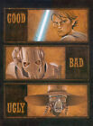 The Clone Wars CGI TV Series The Good Bad Ugly Star Wars Art Giclées on Paper