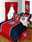 Washington Nationals Comforter and Sham Twin Full Queen King Size