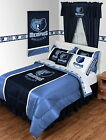 Memphis Grizzlies Comforter Sham and Valance Twin Full Queen King Size