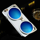 Cool Three-dimensional Sunglasses Glasses Hard Case Cover For  iPhone 6 /6 Plus