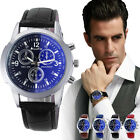 Men's Luxury Fashion Crocodile Leather Analog Casual Dress Watch Watches Men NEW