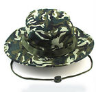 Outdoor Sports Unisex Fishing Hunting Climbing Boonie Hats Top Camouflage Caps