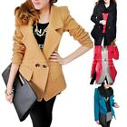 Womens Long Sleeve Sweater 2015 Winter Peacoat Elegant Coat AU sz 8-14