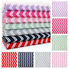 RUNNING STITCH CHEVRON 100% COTTON FABRIC by the metre STRIPE fashion quilting