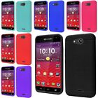 For Kyocera Hydro Wave C6740 Soft Rubber Silicone Jelly Skin Cover Case