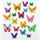 19pcs  Decor Sticker Art Design Decal Wall Stickers Room Decorations Butterfly