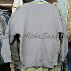 SWISS ARMY SURPLUS ISSUE GRADE 2 WOOLY JUMPER BROWN/GREEN,81.3cm UP TO 111.8cm/