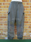 AUSTRIAN ARMY SURPLUS ISSUE G1-2 OLIVE GREEN RIPSTOP COTTON COMBAT TROUSERS OG