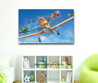 Disney Planes Stretched Canvas Print Framed Wall Art Kid Nursery Decor Painting