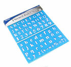 2 x Stencil Set Letters Alphabet Craft Number Lettering Fast From Sydney