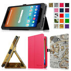Multi-Color Folio Stand Case Cover for AT&T Trek HD 8 inch 4G LTE Android Tablet