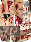 Halloween Fake Scar Wounds Blood Gore Make Up Kit Zombie Fancy Dress Accessory