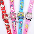 2015 SANRIO HELLO KITTY MY MELODY 3D GRAPH SOFT BAND CHILD WATCH
