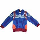 New Kids Captain Of America Zip up Leisure Blue Star Hoodie Outerwear   For 2-6Y