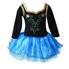 Halloween Cos-play Ballet Tutu Dance-wear Dress 2-8Y Kids Dancing Costume Suit