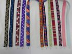 "Nylon strap web tape 5/8-3/4"" make dog cat leash harness purses 45yd free ship"
