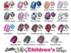 LITTLE CHIX Nail Wraps 7 PACK SPECIAL OFFER Childrens Teens Finger Toe Foils