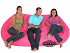 Bean Bag Chairs Factory Direct Cozy Sack Suede 7.5 Foam Filled Comfort