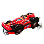 Kids Lightweight Suitcase Case Wheeled Travel Childrens Hand Luggage Racing Car