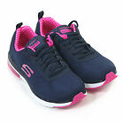 Skechers Women's Skech-Air Infinity Lace Up Trainer Navy / Pink