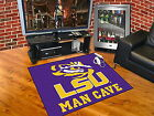 Louisiana Tigers Man Cave Area Rugs Choose from 4 Sizes LSU