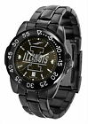 Illinois Illini Fantom Watch Gunmetal Finish Mens or Ladies Black Dial