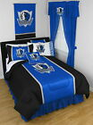 Dallas Mavericks Comforter Bedskirt Sham and Valance Twin Full Queen King Size