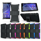 ABC New Fashion Hybrid Protect Stand Case Cover For Sony Xperia Z3