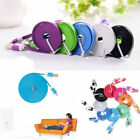 1/2/3M Long Flat Noodle USB Charger Data Cable Cord for IPhone 5 5S 5C 6 6plus