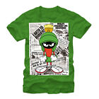 Looney Tunes Marvin UFO News Mens Graphic T Shirt