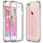 For Apple iPhone 6S / 6S Plus Crystal Clear Back shockproof Bumper Hard Case