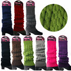 Women Lady Winter Leg Warmers For Women Gaiters Knit Warm Boot Cuffs Socks New