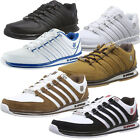 Mens K Swiss Trainers Rinzler SP Iconic Stripes Lace Up Footwear Leather Shoes