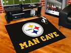 Pittsburgh Steelers Man Cave Area Rug Choose from 4 Sizes