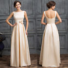 vintage MOTHER OF THE BRIDES GROOM Evening Formal Wedding Long Dresses Gown Prom