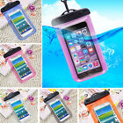 PVC Waterproof Phone Pouch Underwater Dry Bag Case Cover For iPhone 3 4 5S 5C 6