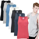 Mens Vest Brave Soul Cook New Jersey Sleeveless Tee Muscle Gym Training Tank Top