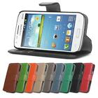 Retro Leather Wallet Flip Case Full Body Cover Samsung Galaxy Trend Plus *SALE*