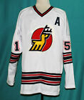 CUSTOM NAME  MICHIGAN STAGS WHA HOCKEY JERSEY 1970s SEWN NEW ANY SIZE XS 5XL
