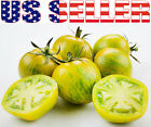 30+ ORGANICALLY GROWN Green Zebra Tomato Seeds Sweet Heirloom NON GMO Sweet USA