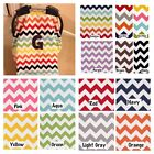 PERSONALIZED CHEVRON CARSEAT CANOPY 14 Chevrons to choose from