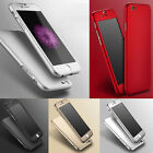 Hybrid Tempered Glass+Luxury Acrylic Back Skin Case Cover For iPhone 6/6 Plus