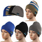 Mens Winter Warm Beanie Hat Smart Cap Wireless Bluetooth Headphone Speaker Mic