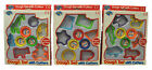 Fun Kids Activity Pack of 6 Plastic Play Dough Cutters with 3 Pots Doh New Boxed
